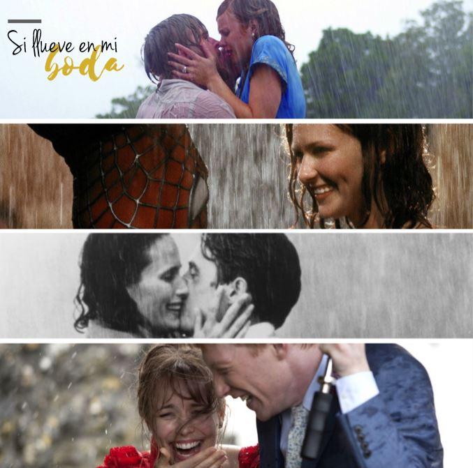 Qué pasa si llueve en la boda