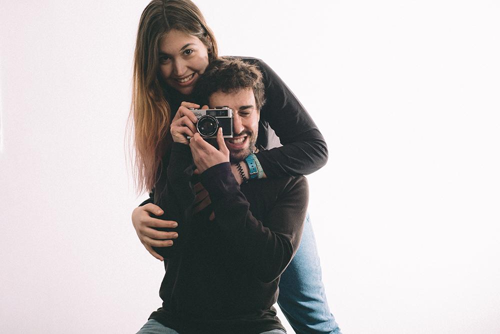 Fotógrafos de boda retratándose
