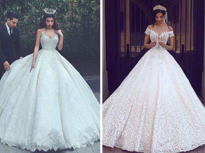 tipos de vestidos de novia — fotógrafos de boda en valencia