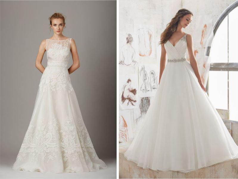 Tipos de vestido de novia