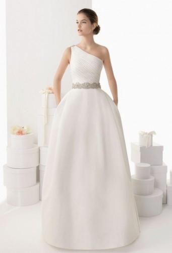 Tipos de escote de novia
