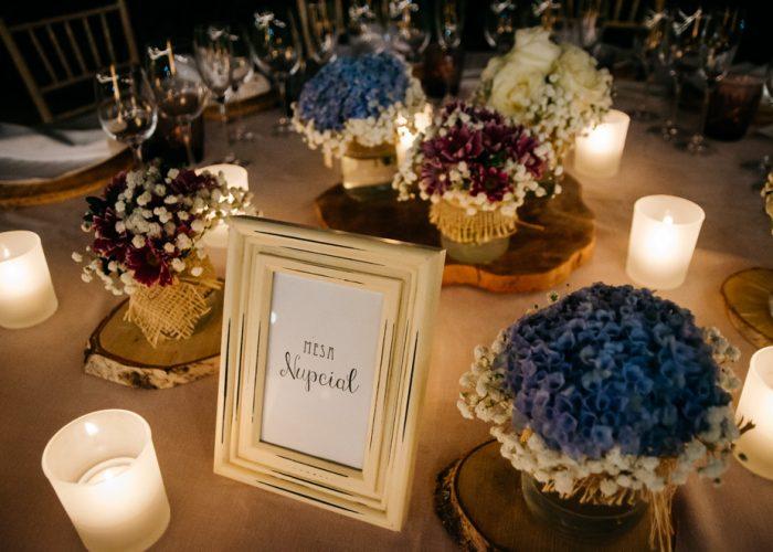 Cómo organizar las mesas de los invitados