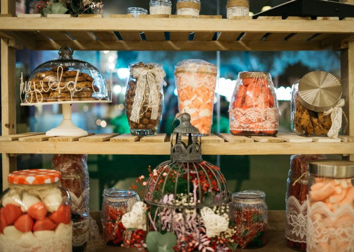 Mesas dulces y Candy bar