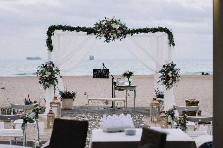 Fotógrafos de boda en Valencia, entrevista salón de bodas L'estibador
