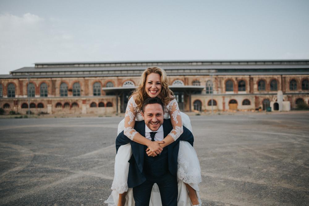 R+S · Post boda en el puerto