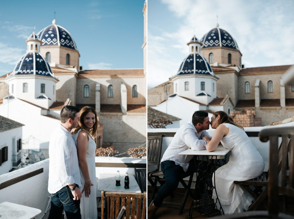 Altea wedding photographer. Post wedding in Altea
