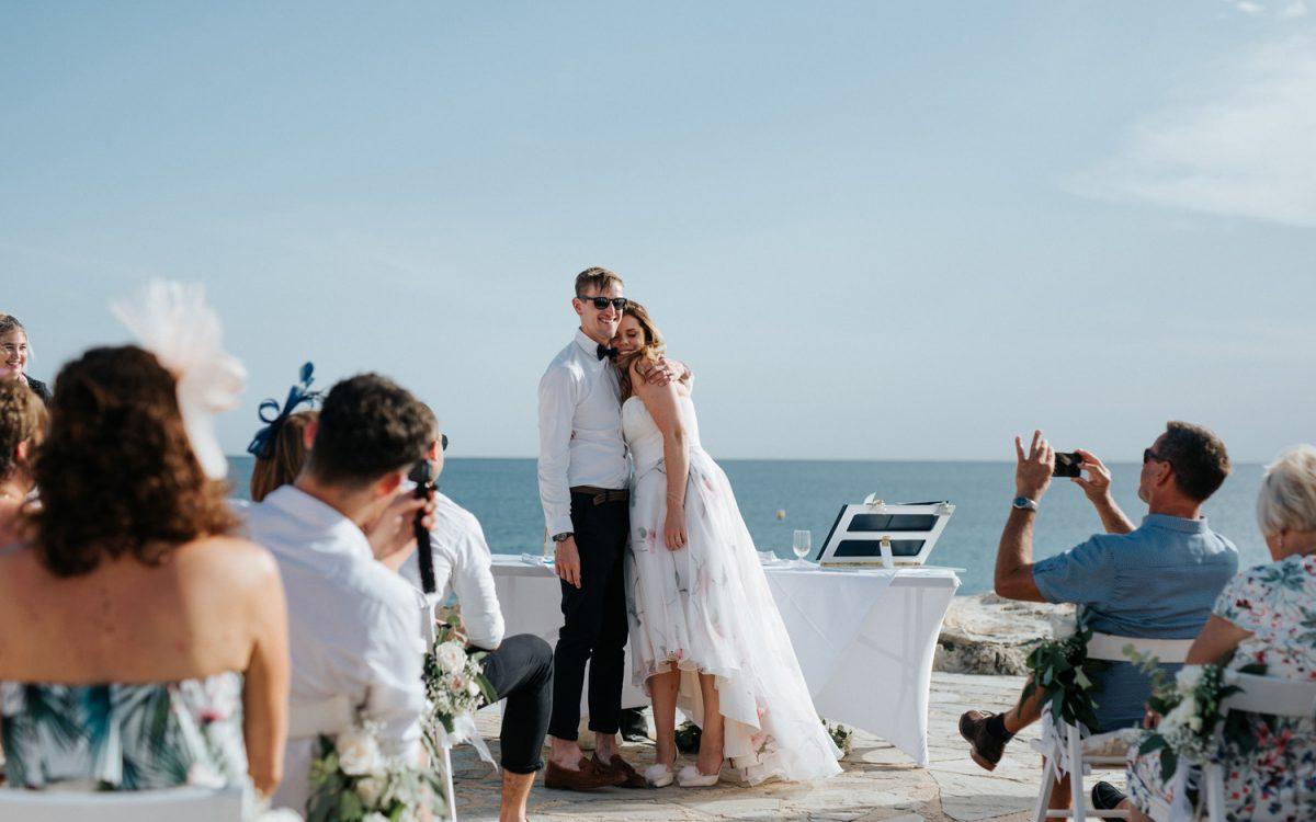 R + A · Wedding in Moraira's Castle (Spain)