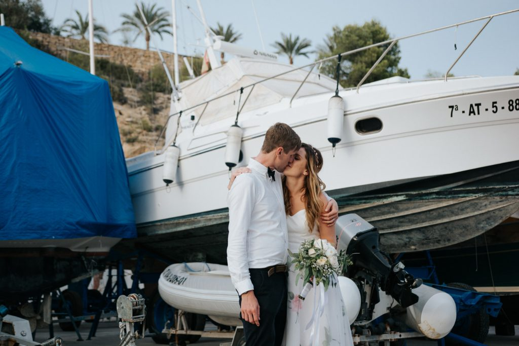 Wedding photographer in Costa Blanca