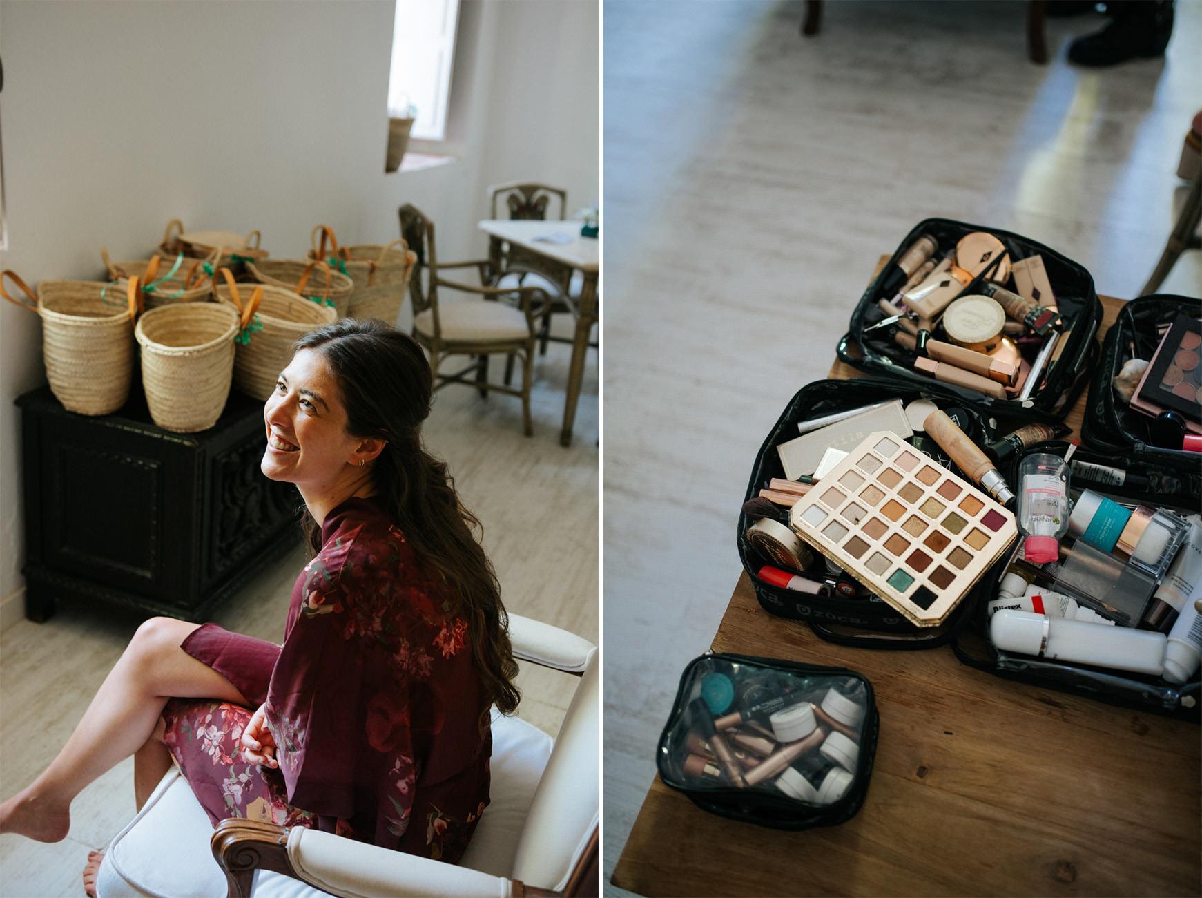 make up Raquel Castillo Casa Santonja