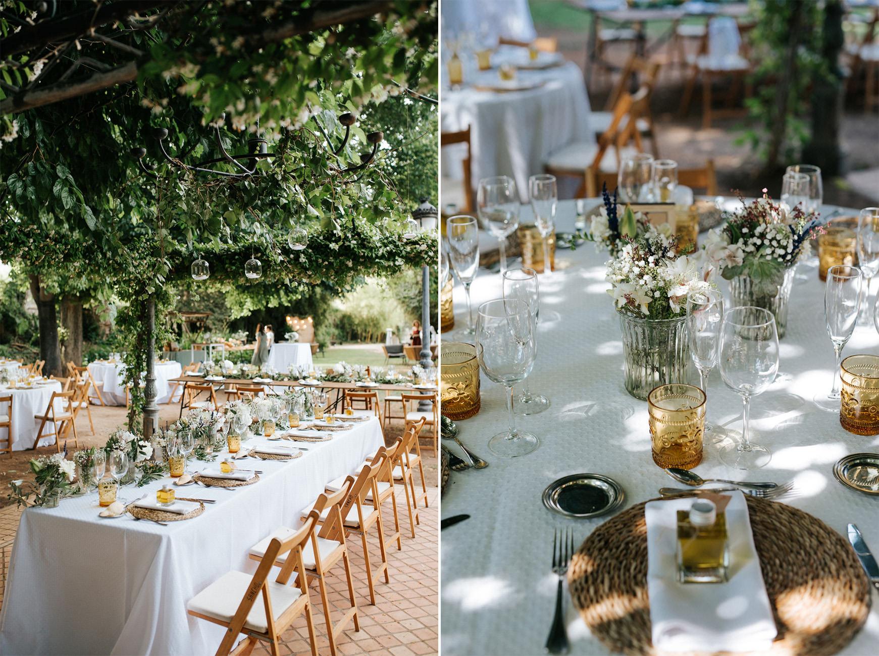 wedding Casa Santonja catering cinco