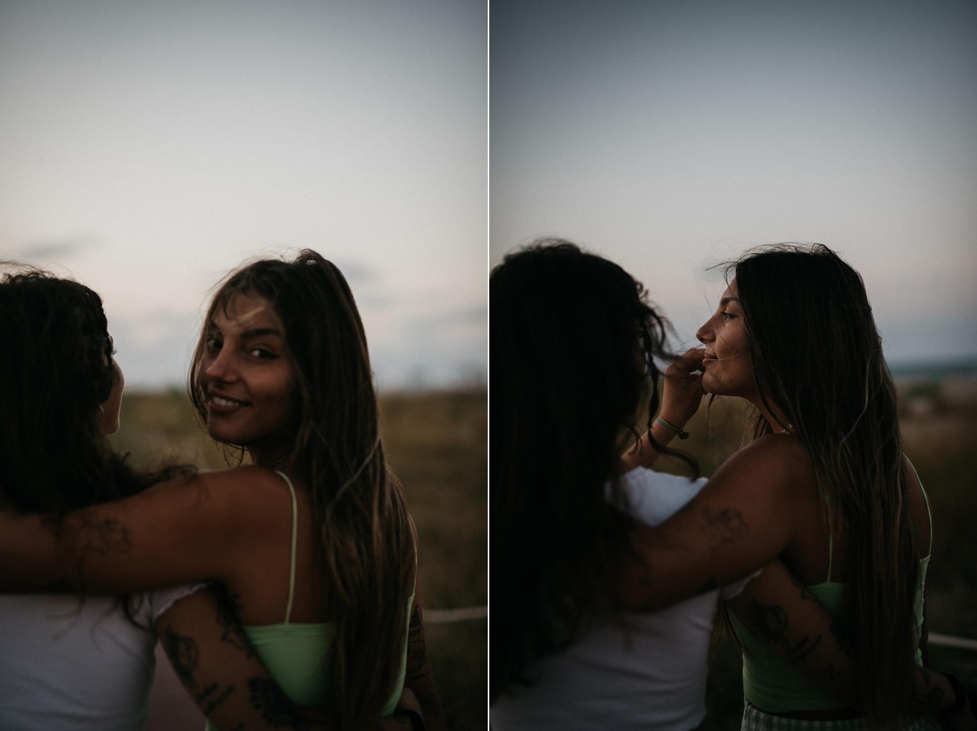 Couple photo shoot in Pinedo (Valencia)